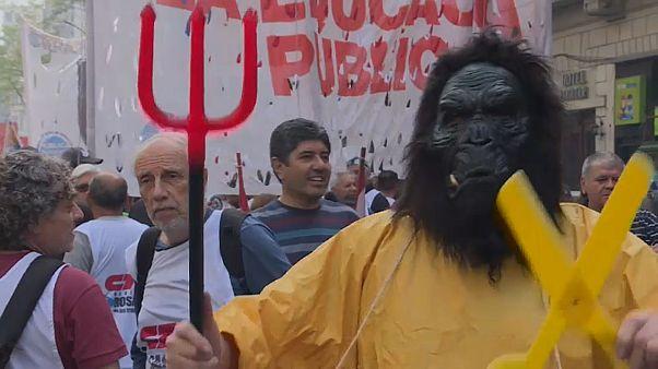 Всеобщая забастовка в Аргентине
