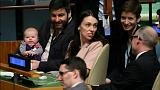 Raw Politics: 3-month-old baby a late contender to be UN General Assembly's 'Most Childish'