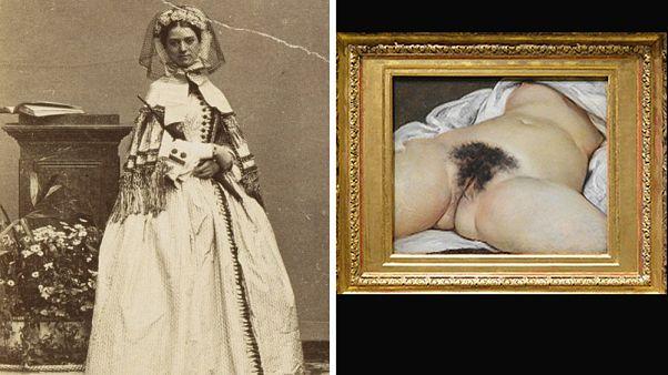 Constance Quéniaux ritratta nel 1860 e l'opera