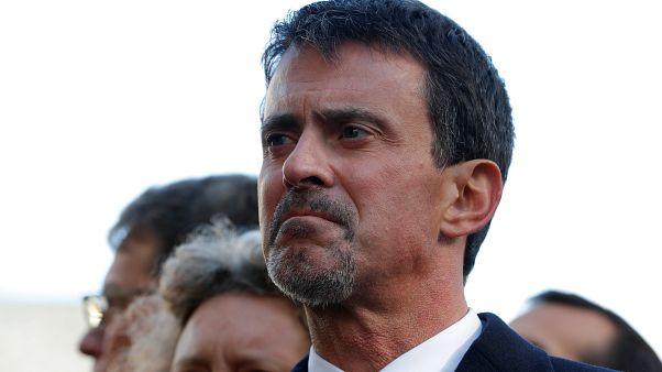 Photo prétexte Manuel Valls candidat à la mairie de Barcelone.