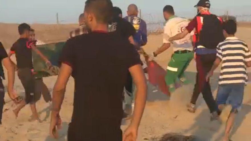 Halott és sebesültek a palesztin tüntetésen
