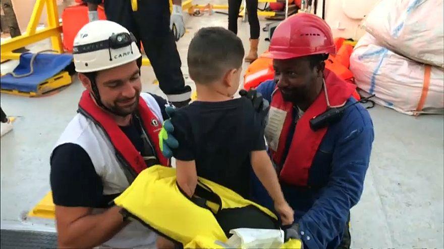 """وزير فرنسي: لا يمكن لسفينة انقاذ اللاجئين """"أكواريوس"""" الرسو في مرسيليا"""