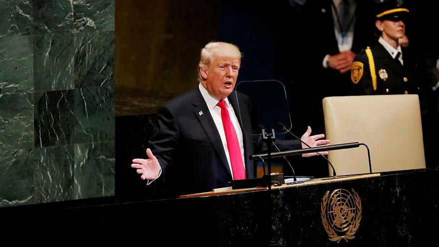 """Trump: """"L'Iran semina morte e distruzione"""""""
