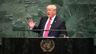 """Trump spricht von """"blutiger Agenda"""" des Iran vor der UN-Generalversammlung"""