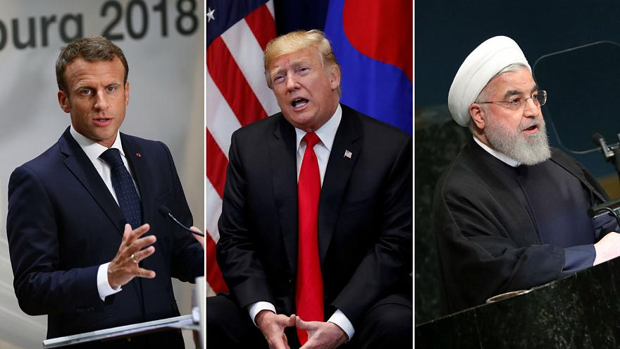 Trump, Macron and Rouhani talk migration, climate change and the Iran deal at UN address
