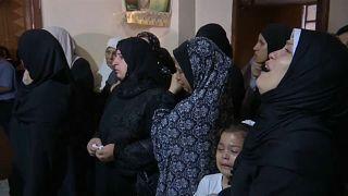 تشييع فلسطيني قُتل أمس برصاص الجيش الإسرائيلي في غزة