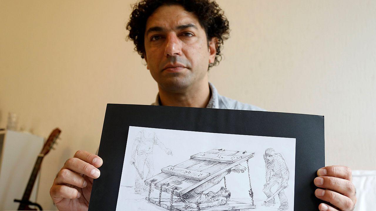 Ο Σύρος που σχεδιάζει τα βασανιστήρια των συριακών φυλακών