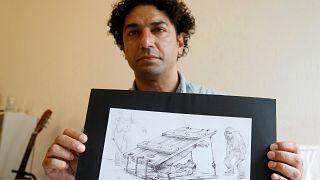 Najah al-Bukai transforma sofrimento em arte
