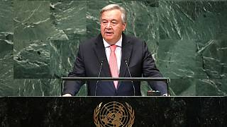 United Nations Secretary General Guterres