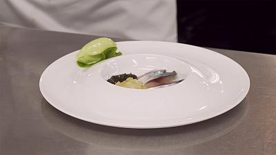 """Thierry Voisin shares his recipe for Marinated Mackerel with Wasabi sorbet with """"Taste"""""""