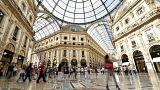 Shopping alle Galleria Vittorio Emanuele II, Milano