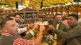 Former Bayern Munich stars celebrate at Oktoberfest