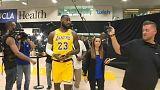 Comienza la 'era LeBron James' en los Lakers de Los Ángeles
