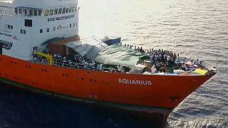 Los inmigrantes del Aquarius desembarcarán en Malta