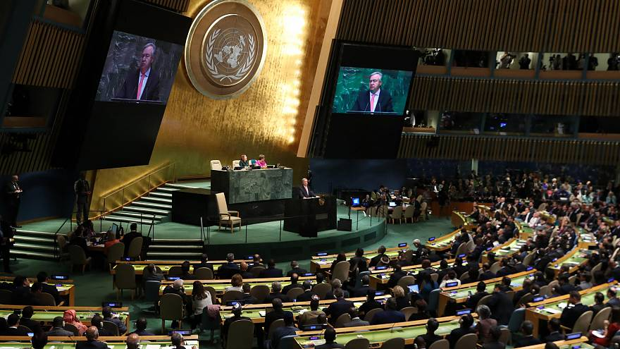 UN Secretary General Guterres delivers opening address at General Assembly
