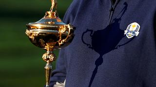 The Ryder Cup Trophy