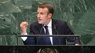 ماكرون: قمع الفلسطينيين لن يحل صراع الشرق الأوسط