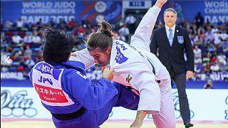 Asian judo stars dominate day six in Baku