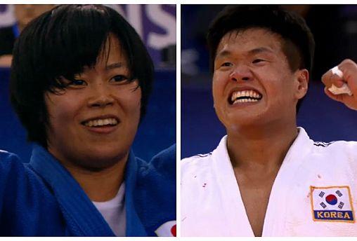 اليابان وكوريا تفوزان بحصة الأسد في سادس أيام بطولة العالم للجيدو بباكو