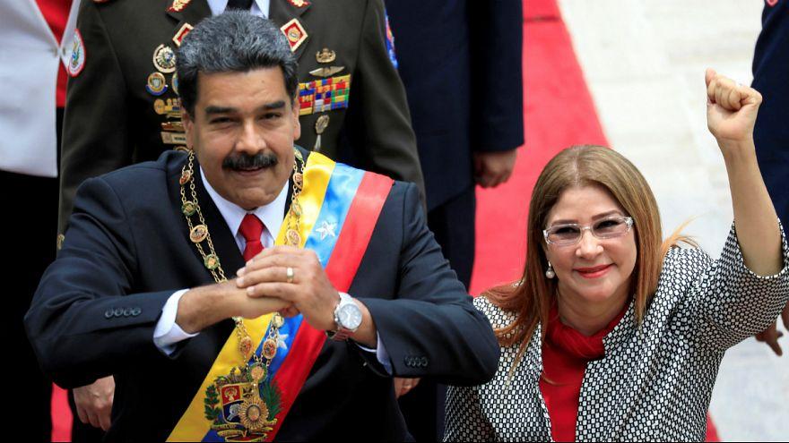 مادورو خطاب به آمریکا: به همسرم کار نداشته باشید