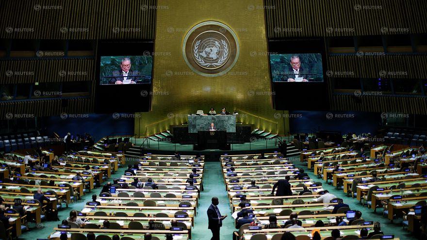 ΟΗΕ: Σφοδρή αντιπαράθεση Τραμπ-Ροχανί
