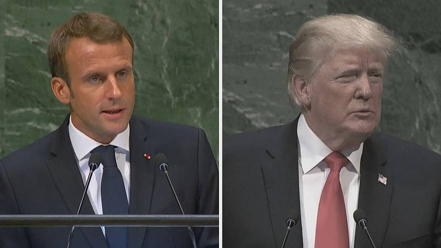 Macron vs Trump at the UN General Assembly