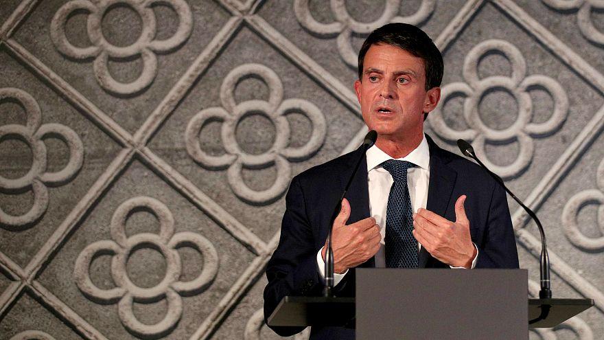 Мануэль Вальс: из премьеров Франции - в мэры Барселоны