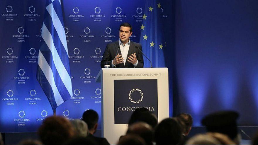 Αλ. Τσίπρας στο Concordia: Η Ελλάδα έχει ήδη γυρίσει σελίδα