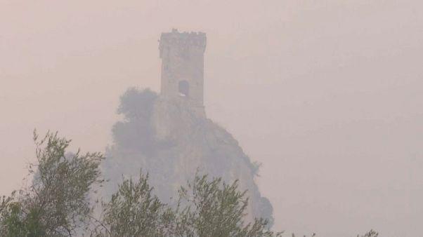 Incendi nel Pisano: inchiesta per rogo doloso