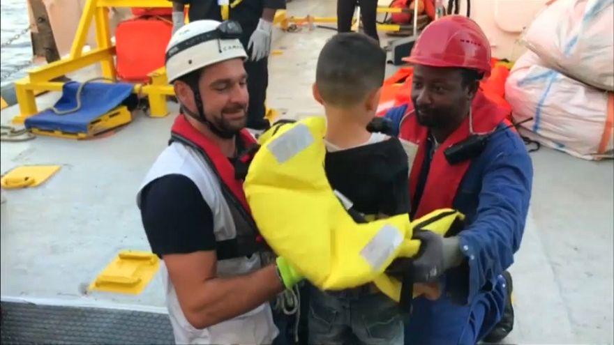 França, Alemanha, Espanha e Portugal recebem migrantes do Aquarius