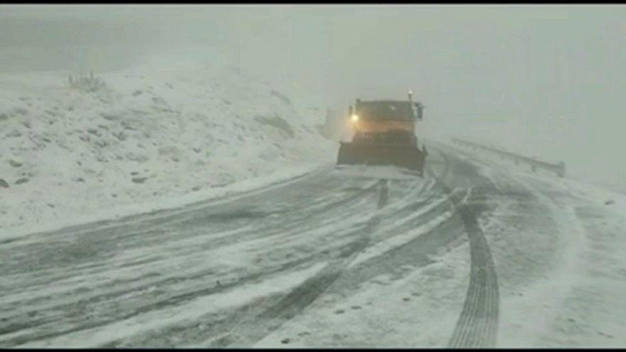 Havazás és erdőtűz Kelet-Európában