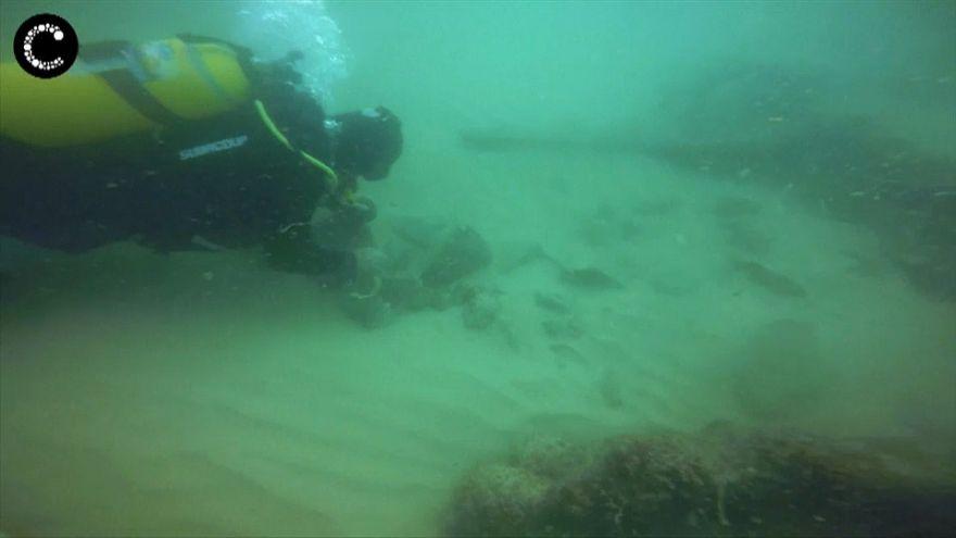 Nau portuguesa descoberta no Tejo
