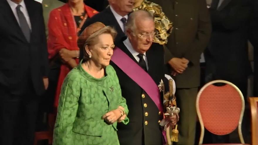 La reina Paola de Bélgica atendida de urgencia en Italia