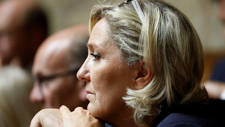Fransız aşırı sağcı partinin devlet yardımına el konuldu