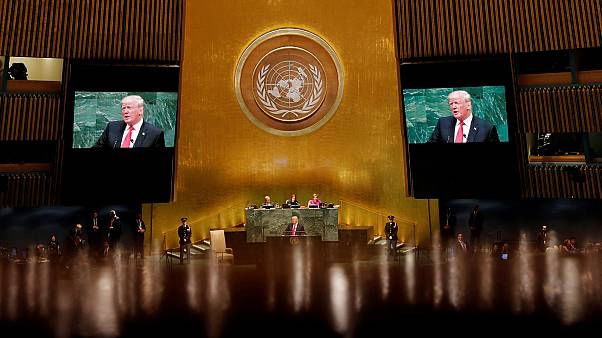 U.S. President Trump addresses the 73rd session of the UNGA in New York