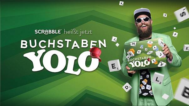 "Scrabble diventa ""Letter-Yolo"" in Germania in vista del 70° anniversario"