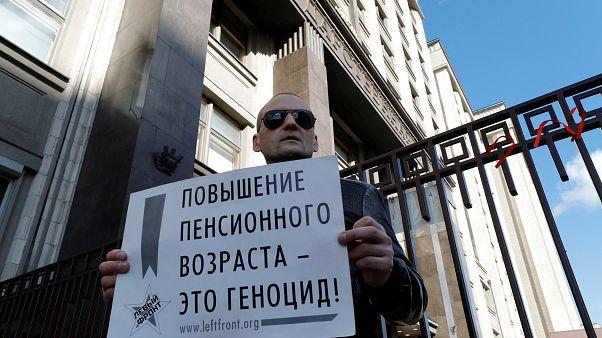 Átment az orosz nyugdíjreform az alsóházon