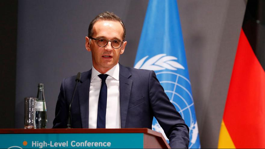 Germany's Foreign Minister Heiko Maas