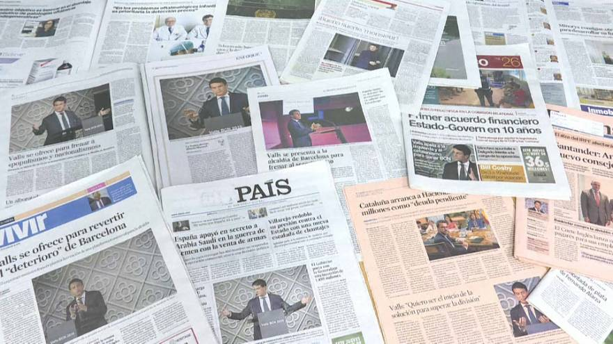 Valls: tibia bienvenida, calurosa despedida