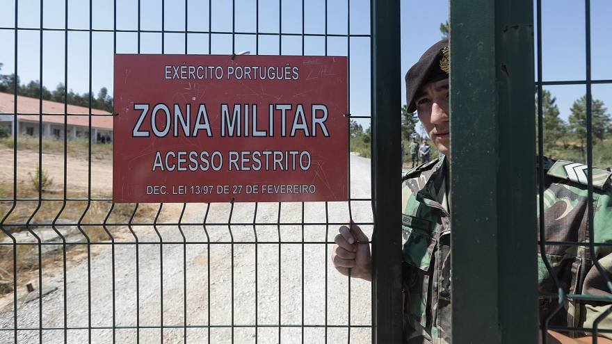 Portugal's military police chief accused of cover up over massive arms theft