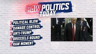 Raw Politics: a big setback for Merkel, EU at loggerheads with Romania and Macron the 'Anti-Trump'
