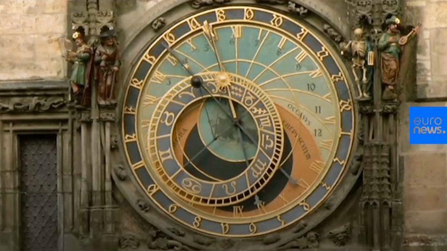 Prague's famous Astronomical clock returns after major repair works