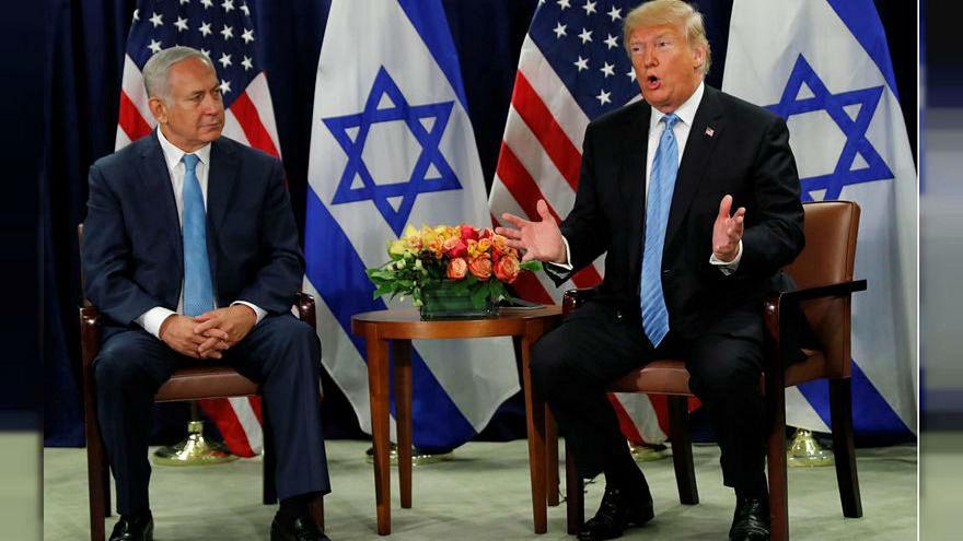 الرئيس دونالد ترامب ورئيس الوزراء الإسرائيلي بنيامين نتنياهو في نيويورك