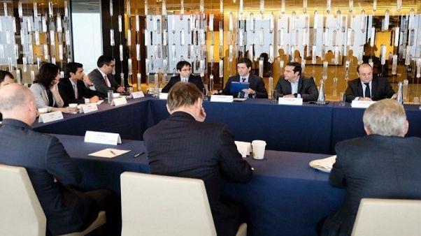 ΗΠΑ: Επαφές Τσίπρα με χρηματοοικονομικούς επενδυτές και τραπεζίτες