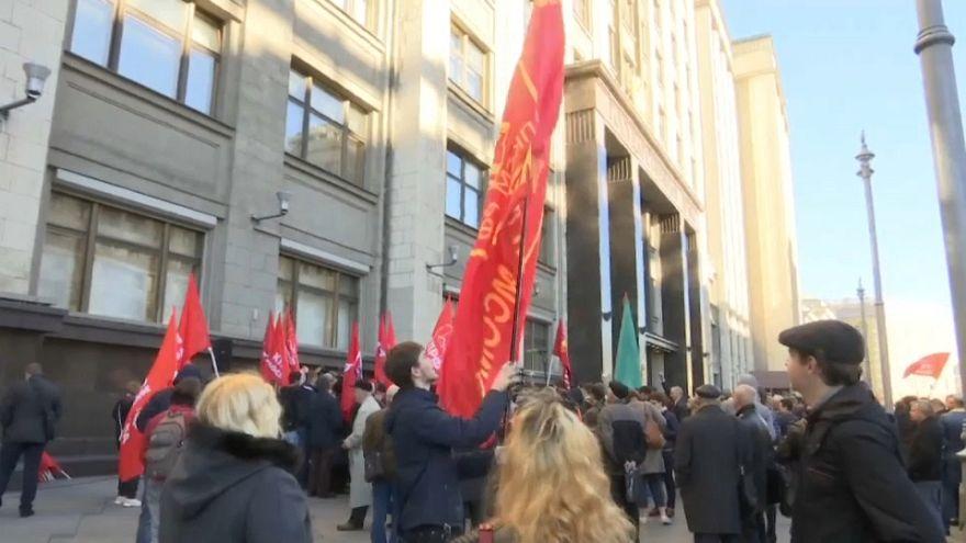 غضب في الشارع الروسي بعد موافقة الدوما بأغلبية على رفع سن التقاعد