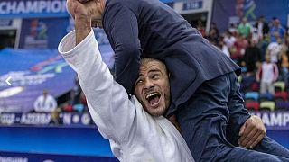 Bakü Dünya Judo Şampiyonası: Gürcü Guram Tushishvili günün parlayan yıldızı oldu