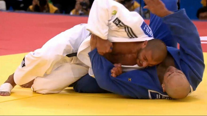 جودو؛ ورزشکار گرجستانی در سنگین ترین وزن رقابت های جهانی طلا گرفت