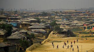 Kutupalong refugee camp in Cox's Bazaar, Bangladesh, March 27, 2018.
