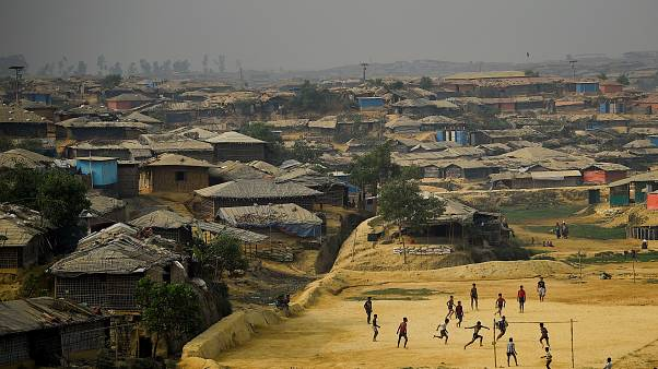 Kutupalong refugee camp in Cox's Bazaar, Bangladesh, March 27, 2018.