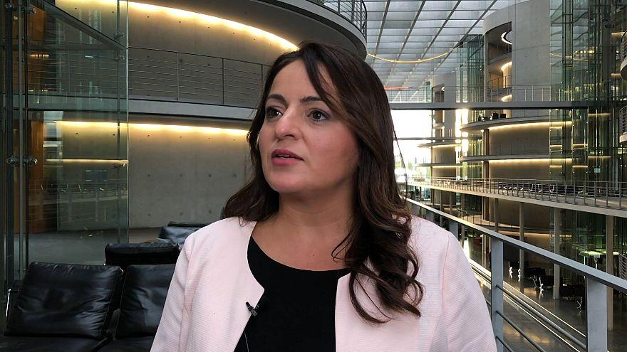 Alman Die Linke (Sol Partisi) Meclis Grup Başkanvekili Sevim Dağdelen